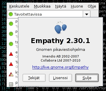 Empathy 2.30.1